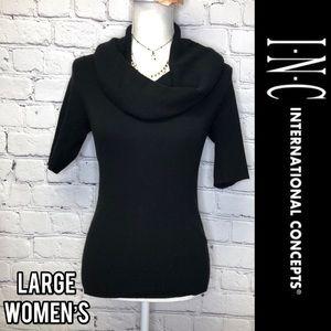 I.N.C. International concepts Cowl neck top